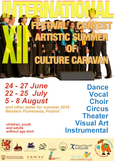 ARTISTIC SUMMER OF CULTURE CARAVAN 2016