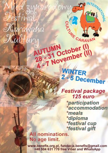 Karawana Kultury 2016 - Jesień i zima