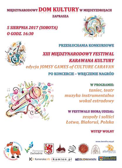 Jomsy Games of Culture Caravan, Karawana Kultury, Караван Культуры, Бюджетные фестивали в Польше