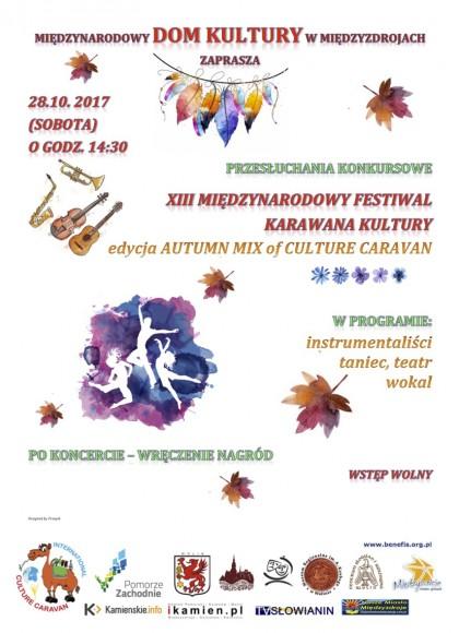 Autumn MIX, Karawana Kultury, Караван Культуры, Бюджетные фестивали в Польше