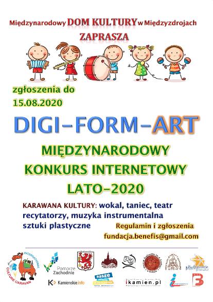 DIGI-FORM-ART international contest of Culture Caravan